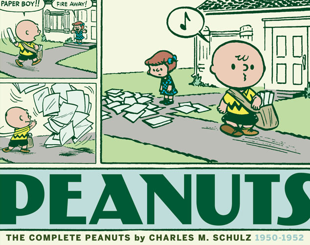 """Nostalgia and Charm Come Together in the Iconic """"Complete Peanuts:1950-1952″"""
