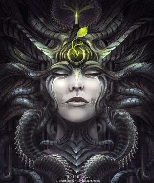 "Artists Pay Tribute to Hans Ruedi Giger, the Visual Eye Behind ""Alien"""