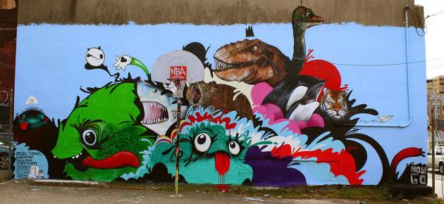Artist Spotlight: NoseGo's Abstract Cartoon Monsters