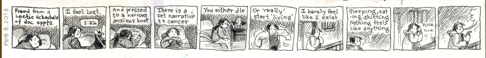 Laura Park's Autobiographical Comics Depict the Struggle of Living With Cancer