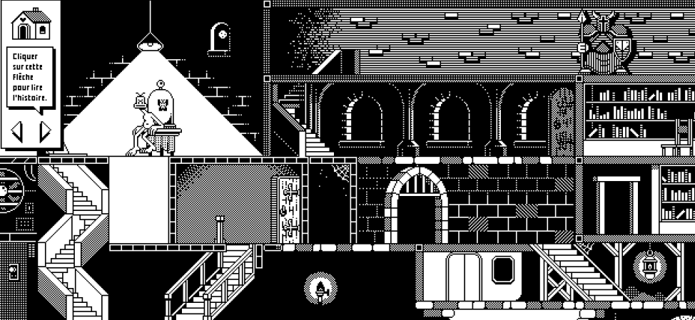 """Super Pixel Quest,"" an Interactive Digital Comic Composed of GIFs"