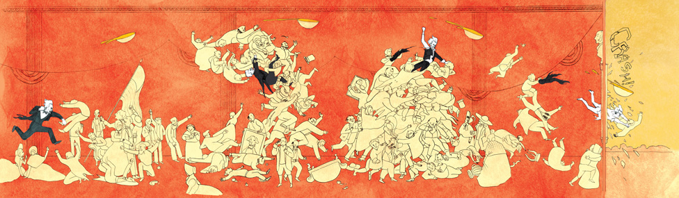 """""""Andrew Jackson Throws a Punch,"""" a Hilarious (and Historical) Comic by Andrea Tsurumi"""