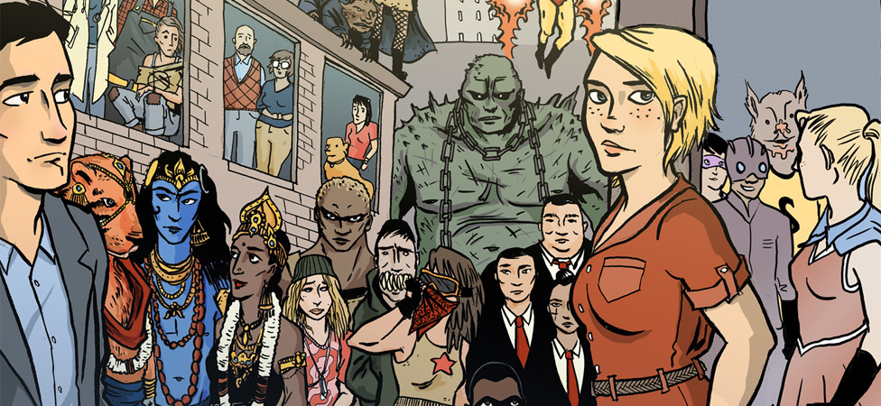 """Strong Female Protagonist"" Shows the Downside of a World Full of Superheroes"