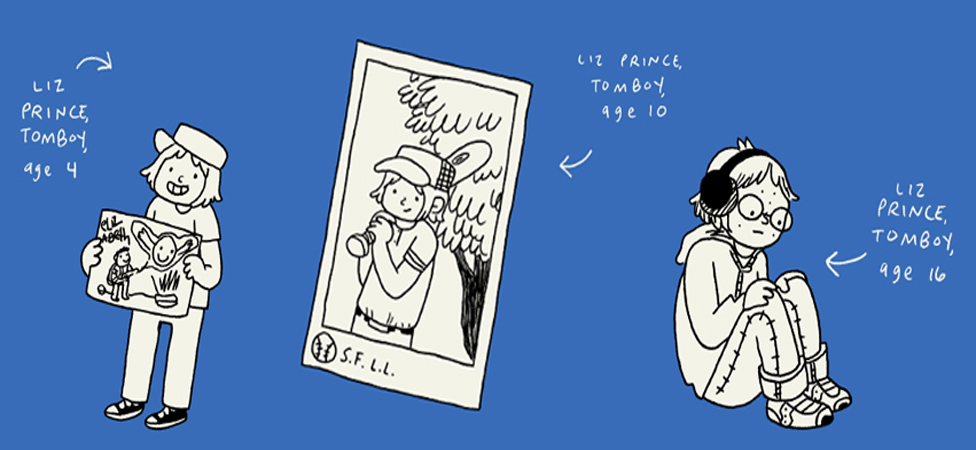 "Defy Traditional Feminine Stereotypes With Liz Prince's ""Tomboy: A Graphic Memoir"""