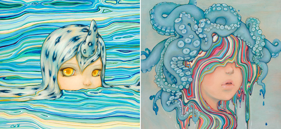 Camilla d'Errico's Doe-Eyed Pop Surrealism