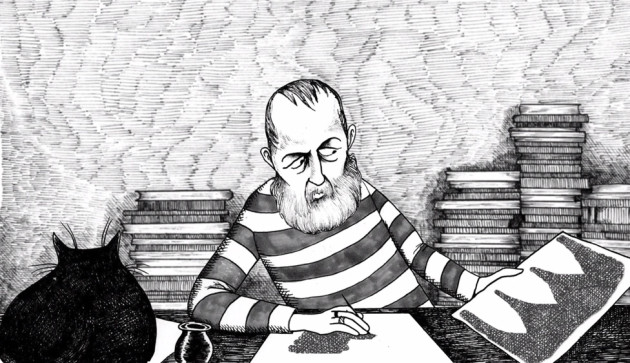 Illustrator Edward Gorey Talks