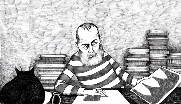 Illustrator Edward Gorey Talks