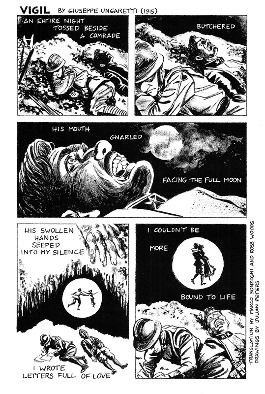 Illustrator Julian Peters Adapts Classic Poetry Into Comics