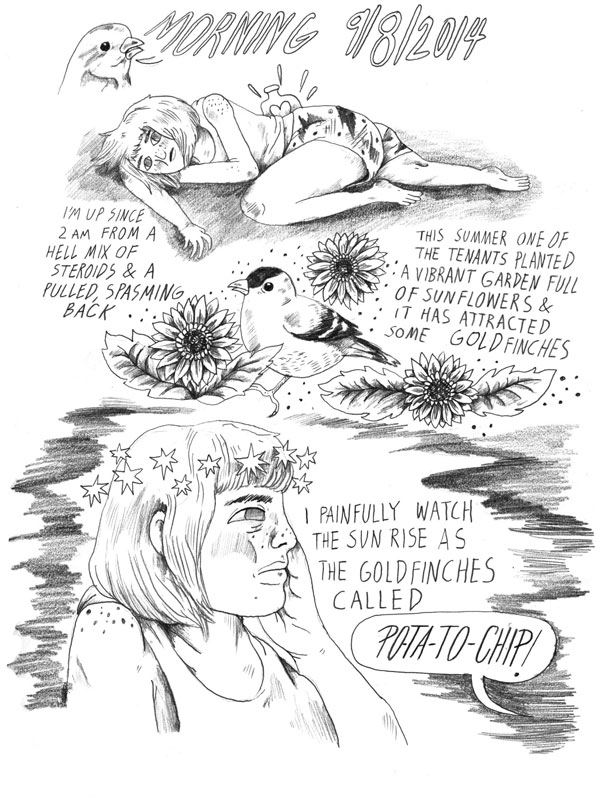 Revealing Comic Shows What Life Is like on Chemo