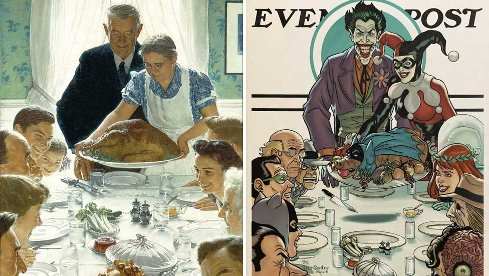 A Tribute to Norman Rockwell