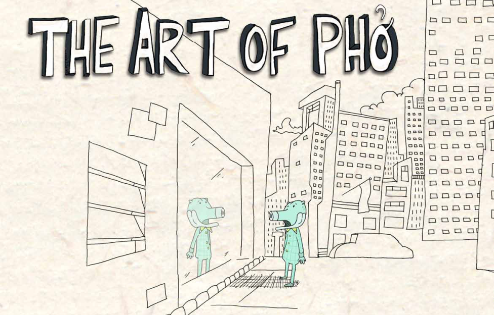 The Art of Pho: An Interactive Comic
