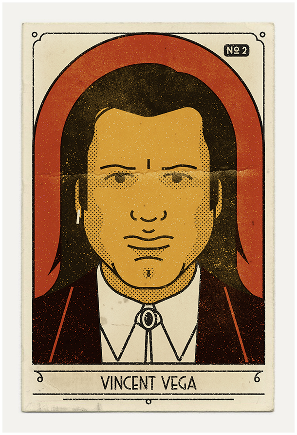 Pulp Fiction's 20th Anniversary Commemorated in Stylish, New Illustrations