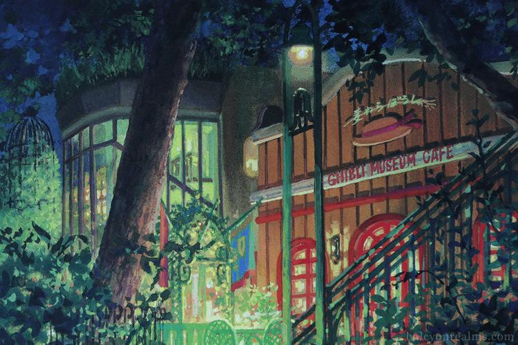 Ghibli Museum Illustrated Postcards