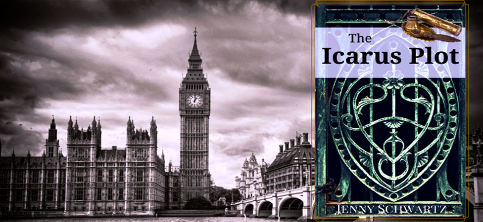 """The Icarus Plot,"" a Steampunk Novella for Monster Lovers"