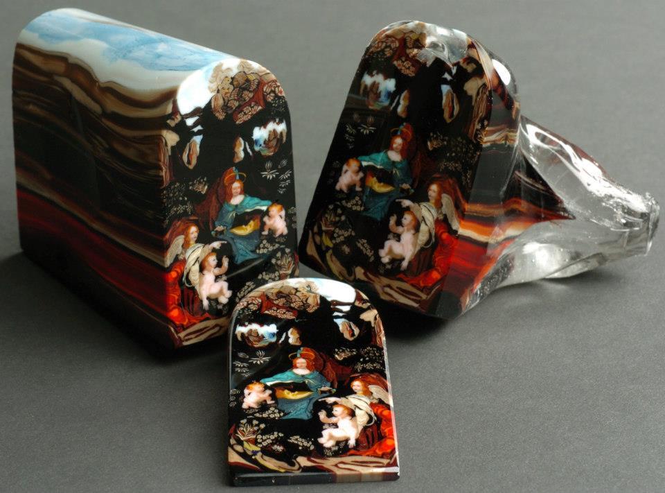"""Loren Stump's Amazing Glass """"Murrini"""""""