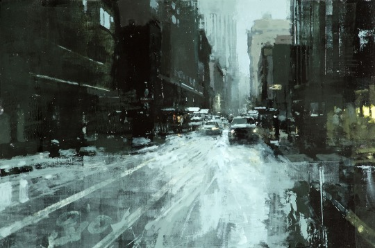 The Haunting Cityscapes of Artist Jeremy Mann