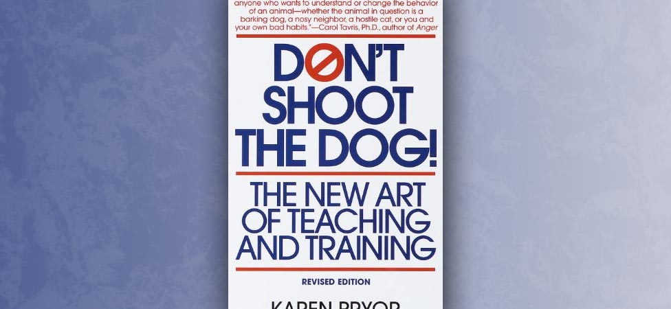 Don't Shoot the Dog: The Quintessential Dog-Training Manual