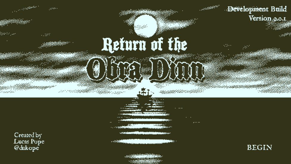 "Although Incomplete, ""Return of the Obra Dinn"" Hints at the Frightening Story of a Missing Ship's Last Days"