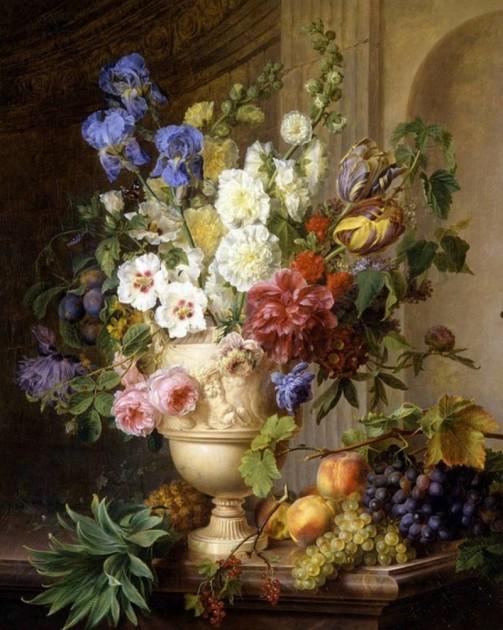 The Beautiful Still-Life Paintings of Cornelis Van Spaendonck