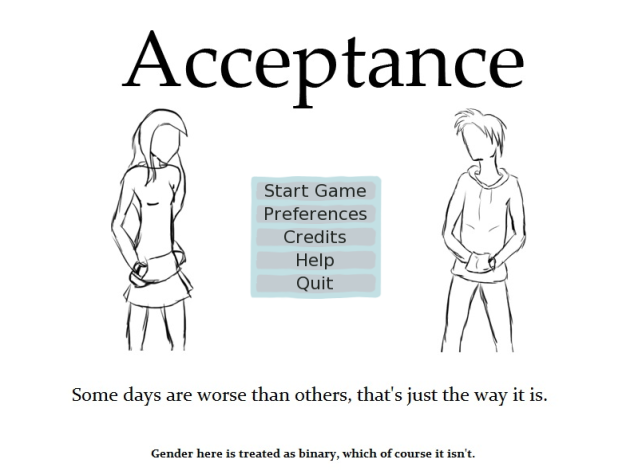 Experience a Day in the Life of a Trans Character in