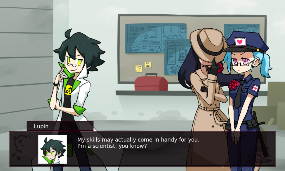 """Romance Detective"" Solves Crimes of Passion in This Cute Visual Novel"