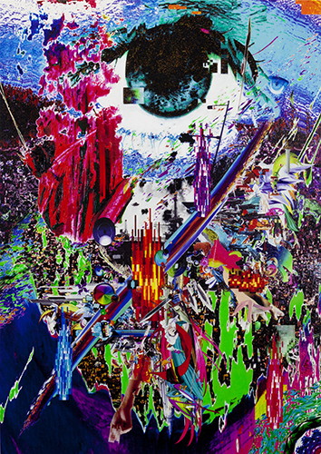 Colorful Internet Collages by Kazuki Umezawa