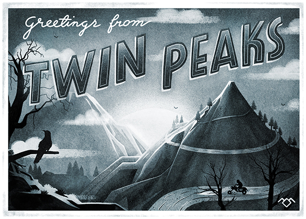 An Illustrated Tribute to Twin Peaks