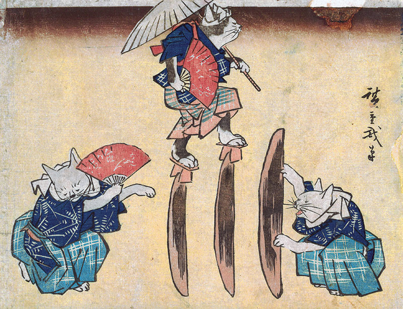 """Life of Cats"" Is a Look at the Felines of Ancient Japan"