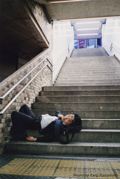 Photos of Drunk, Exhausted Japanese Salarymen