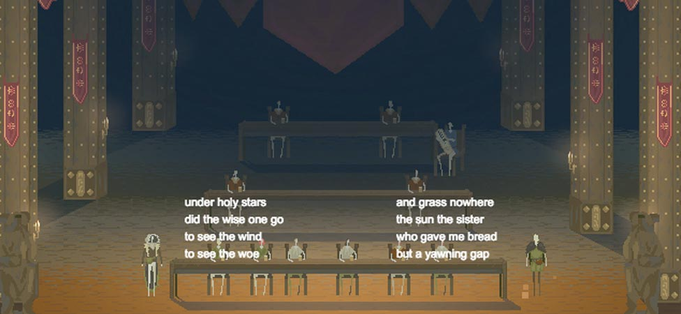 "Slam Poetry Simulator ""Edda"" Invites You to Battle, Old Norse-Style"