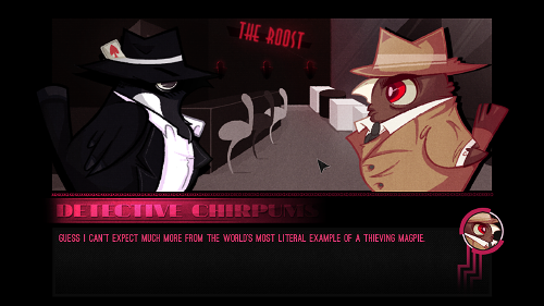 """The Only Bird to Give a Hoot About Crime Is """"Detective Chirpums, Private Investigator"""""""