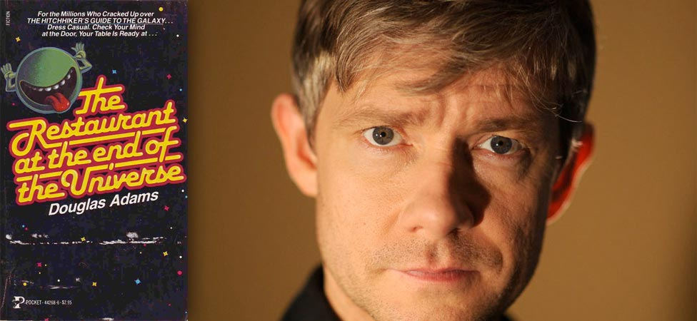 "Laugh Along With Martin Freeman's Reading of ""The Restaurant at the End of the Universe"""