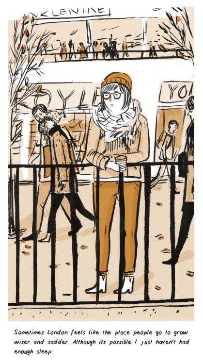 Lizzy Stewart's Reflective Diary Comics