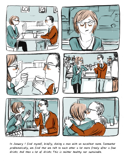 Lizzy Stewart's Reflective Diary Comics