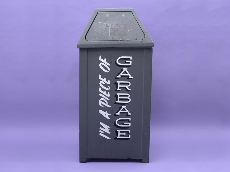"""I'm a Piece of Garbage"" Looks Into the Inner Self-Loathing of Discarded Objects"