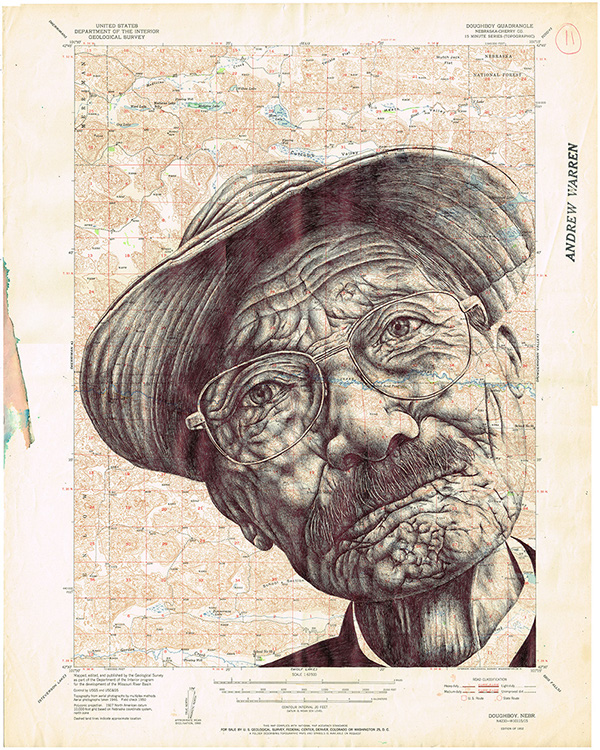 Insanely Detailed Bic Pen Drawings