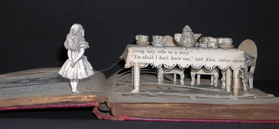 """Sue Blackwell's Books Are Exactly What Adult """"Pop-Up"""" Books"""