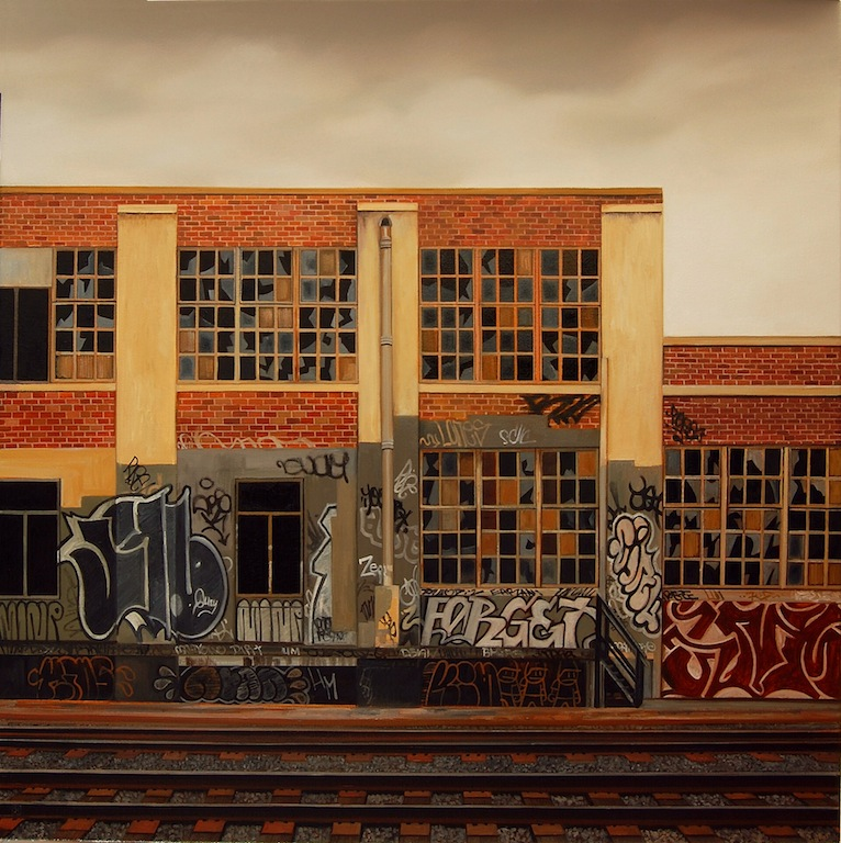 Jessica Hess's Realistic Paintings of Urban Landscapes
