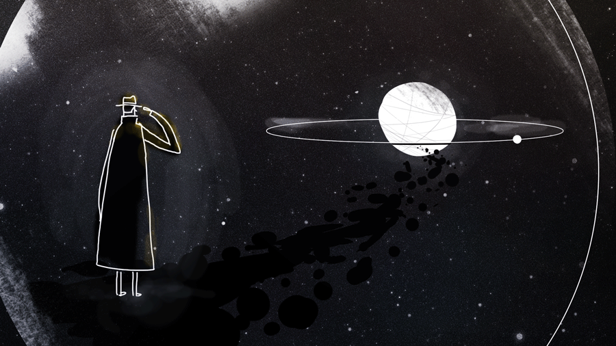 "Stunning Concept Art for ""Genesis Noir,"" a Game Inspired by Italo Calvino's ""Cosmicomics"""