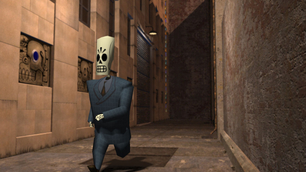"Replaying the Classic Adventure Game ""Grim Fandango"""