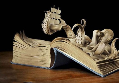 """Sue Blackwell's Books Are Exactly What Adult """"Pop-Up"""" Books Should Be"""