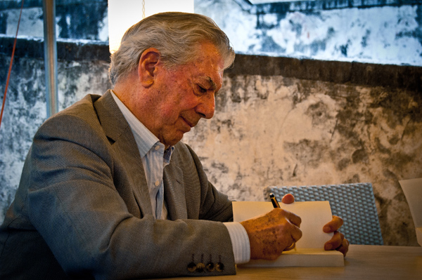 Vargas Llosa won the Nobel Prize for literature in 2010.