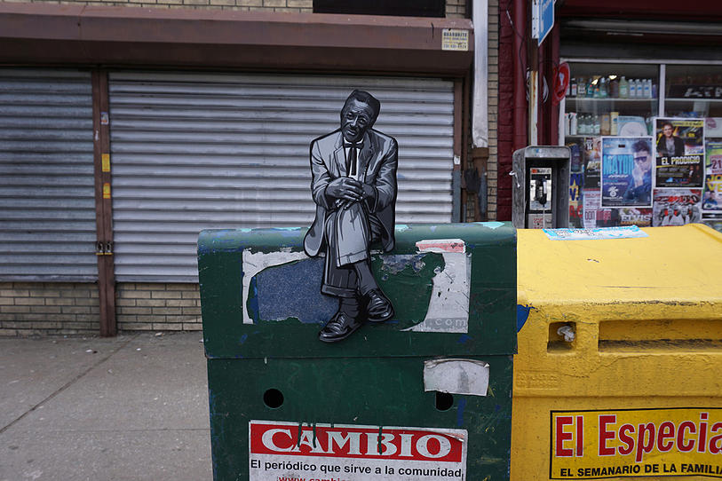 Joe Iurato's Wooden People Take Over the Streets of New Jersey
