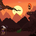 Survive Amongst The Dinosaurs In The Adorably Retro