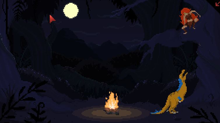 "Survive Amongst The Dinosaurs In The Adorably Retro ""Theropods"""
