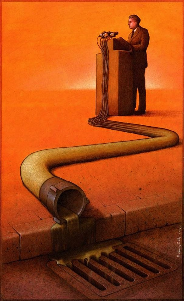 Pawel Kuczynski's Illustrations Will Make You Think Hard About The World