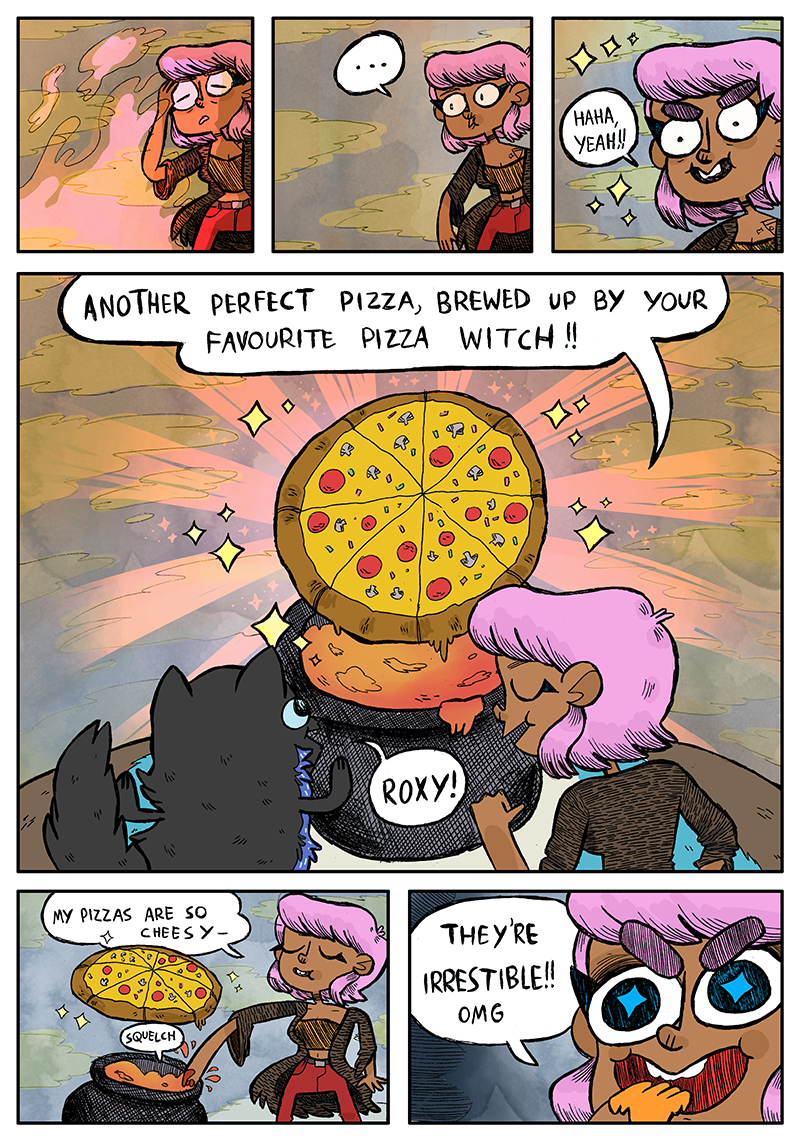 "Kick Off October With ""Your Favorite Pizza Witch"""