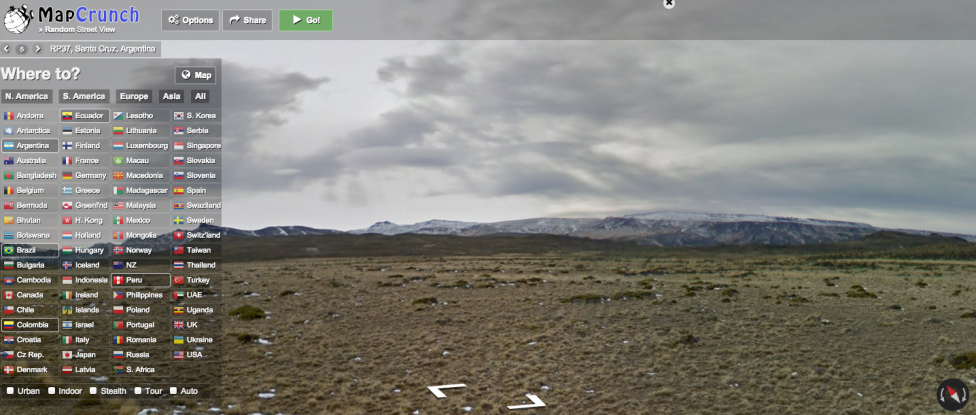 Mapcrunch: When Exploring The World Becomes A Time-Wasting Game