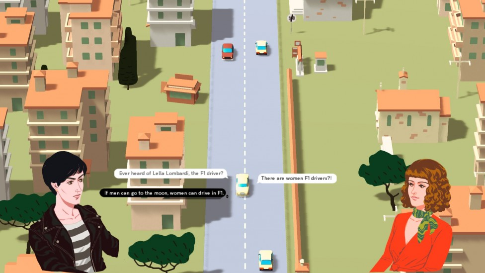 "Drive On the Political Roads of Italy in ""Wheels of Aurelia"""