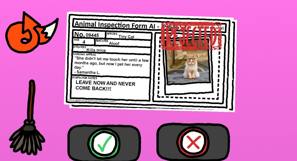 """Decide Whether Rover Lives or Dies in the Surprisingly Clever """"Animal Inspector"""""""